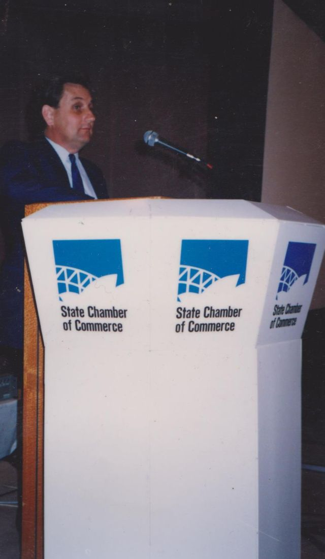 Clive Taylor Speech State Chamber of Commerce